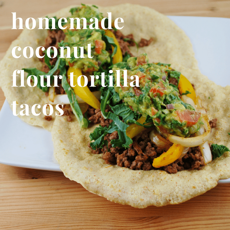 coconut flour tortillas substitute