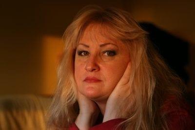 woman getting sick lacks digestive enzymes