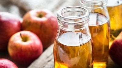apple cider vinegar helps heal anxiety