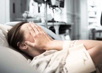woman thinking of colonoscopy Prep Day