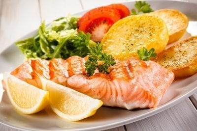fish and vegetable for liver cleanse