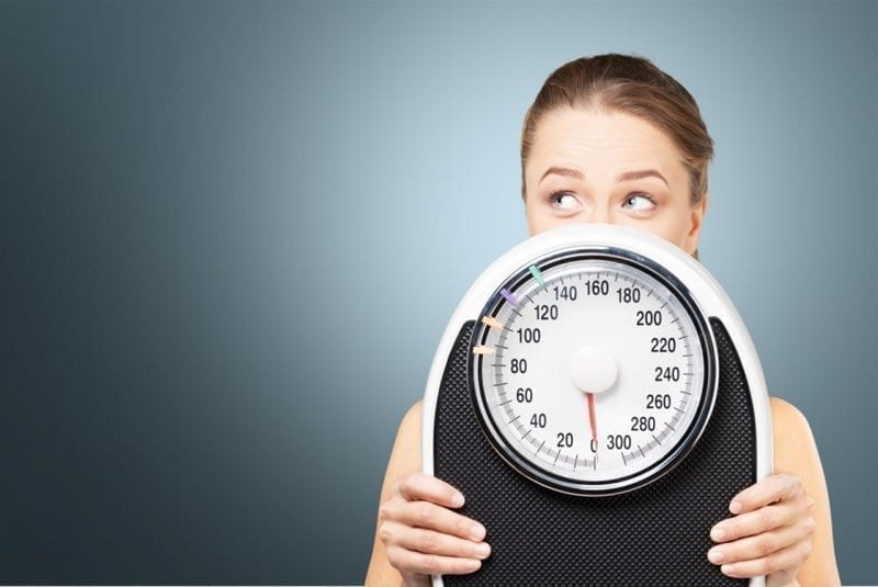 gain weight with fast metabolism