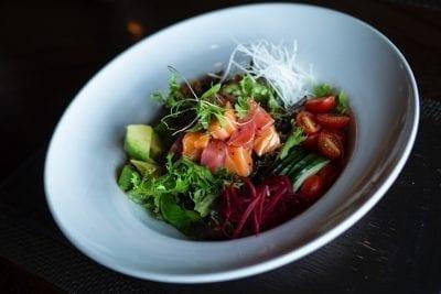 fish and vegetables pegan