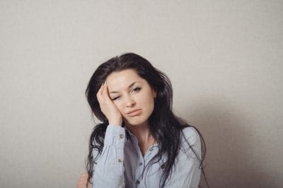 woman with hormone imbalance feeling depressed
