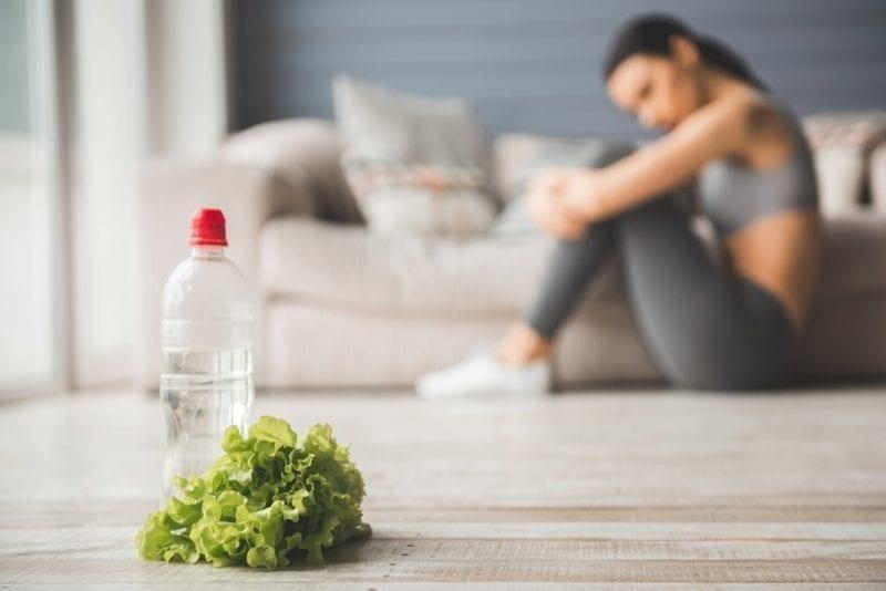 water vegetable woman depressed because of circadian rhythm
