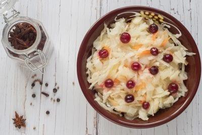 sauerkraut probiotics