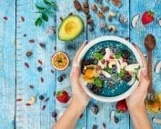 healthy food on the table for gut health