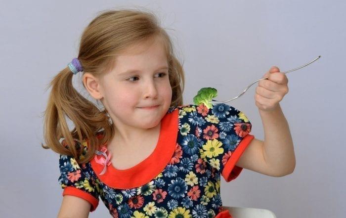 picky eater kid not liking vegetable