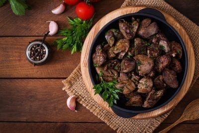 fried chicken liver with herbs gut loving superfoods