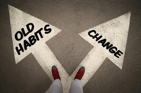 habit change, old habits or change